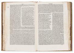 Lucanus (Marcus Annaeus) Pharsalia, commentary by Omnibonus Leonicenus and Johannes Sulpitius …