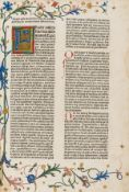 Bible, Latin.- Biblia latina, with additions by Menardus Monachus, Nuremberg, Anton Koberger, 30 …