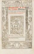 Waldensis (Thomas) Sacramentalia...contra Witcleuistas & eorum asseclas Lutheranos, Paris, [Josse …