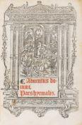 Use of Sarum.- Portiforium seu breviarium ad insignis Sarisburiensis ecclesiae usum nuper summa …
