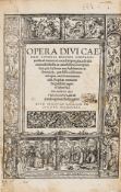 Cyprian (Saint, Bishop of Carthage) Opera, edited by Desiderius Erasmus, Basel, [Johann] Froben, …