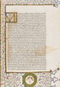 Lactantius (Lucius Coelius Firmianus) Opera, the second book printed in Rome, Rome, Conradus …