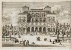 Rome.- Villa Borghese.- Brigentius (Andrea) Villa Burghesia vulgo Pinciana, first edition, Rome, …