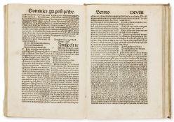 Osualdus de Lasco. Sermones dominicales Biga salutis intitulati, Hagenau, Heinrich Gran for …