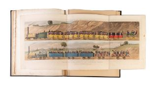 Bury (Thomas Talbot) Coloured Views on the Liverpool and Manchester Railway, second edition, with …