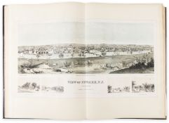Early Railways.- Beginning of the World's Railways (The): Pictorial Engravings, album of prints …