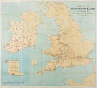 Great Western Railway. Map of the Great Western Railway of England and its connections to the …