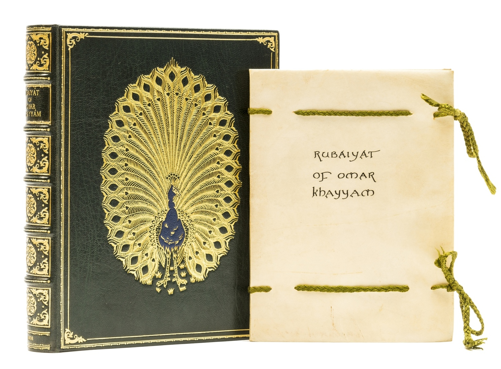 Calligraphic manuscript.- Omar Khayyam. Rubaiyat, illuminated calligraphic manuscript by Alberto …