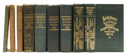 Bradshaw (George) Bradshaw's Railway Almanack, Directory, Shareholders' Guide, and Manual, 68 …