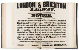Early Railways.- [Beginning of the World's Railways (The): Original Letters, Manuscripts, Railway …