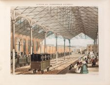 Bury (Thomas Talbot) Six Coloured Views on the London and Birmingham Railway, Part I [all …