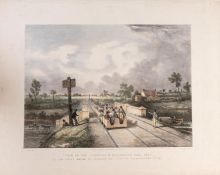 Clayton (Alfred B.) Views on the Liverpool and Manchester Railway, Part I [all published], …
