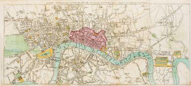 London.- Wakefield (Priscilla) Perambulations in London, and its environs, first edition, Darton …