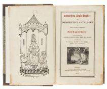 Griffith (Acton Frederick) Bibliotheca Anglo-Poetica or, a Descriptive Catalogue of a Rare and …