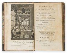 Grimod De La Reyniere (Alexandre Balthazar Laurent) Almanach des Gourmands, 3 vol. only of 8, …