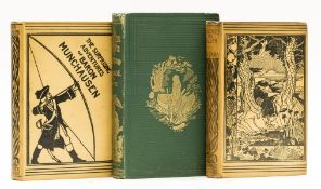 [Raspe (Rudolph Erich)] The Surprising Adventures of Baron Munchausen, 1895; and 2 others (3)