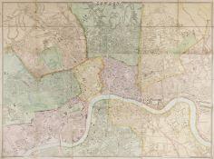 London.- Weller (Edward) London, engraved map, [1863].