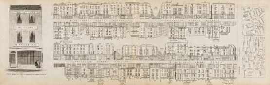London.- Tallis (John) [London Street Views], engravings, [c. 1838-1847] (38).