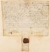Cornish Tinner.- I, William Pawle of St Austell, Tinner, has sold to John Hickes for six pounds …