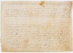 Catalonia, Poboleda.- Perpetual sale granted by the Prior of the Monastery of Scala Dei in favour …