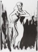 Allen Jones (b.1937) Shimmy