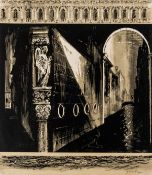 John Piper (1903-1992) Death in Venice: side panel left (Levinson 224)