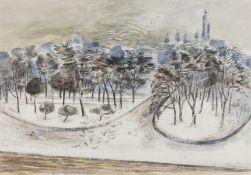 Paul Nash (1889-1946) London - Winter Landscape