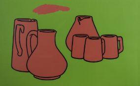 Patrick Caulfield (1936-2005) Earthenware (Cristea 4)