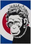 Banksy (b.1974) Monkey Queen
