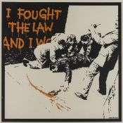 Banksy (b.1974) I Fought the Law