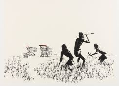 Banksy (b.1974) Trolleys (LA Edition)