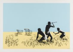 Banksy (b.1974) Trolleys (colour)