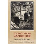 British Art.- Ardizzone (Edward) Shelter scene, [c. 1941]; and over 12 other posters and prints by …