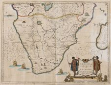 South Africa.- Blaeu (Willem Jansz.) Aethiopia Inferior vel Exterior, 1635; and 3 others (4)