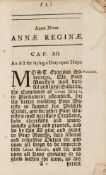 Food & Drink.- Anno Regni Annae Reginae Nono...An Act for laying a Duty upon Hops, John Baskett, …