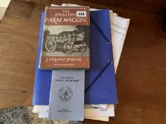 2 booklets Easr Riding dialect & The English Farm Wagon