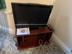Akura TV & cabinet