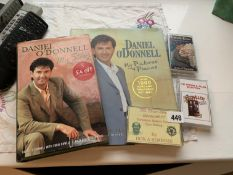 2 Daniel O'Donnell books & 3 other cassettes