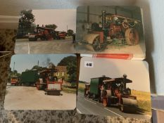 4 Welwick steam roller 'Janet' place mats & others