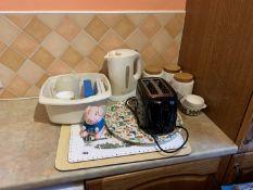 Toaster, kettle etc
