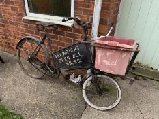 'Arkwirght Open All Hours' delivery bike