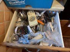 Contents of 2 drawers