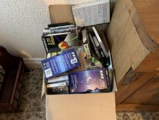 Various CDs & VHS tapes