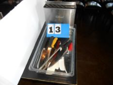 Lot: Cutlery and Wall Holders