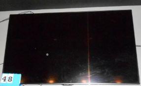 "Sharp 70"" Flat Screen TV w/Wall Mount"