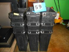 Lot: 9 Trash Cans