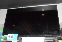 "Samsung 55"" Flat Screen TV w/Wall Mount"