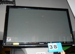 "Panasonic 50"" Flat Screen TV w/Wall Mount"