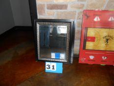Lot: 2 Beveled Mirrors