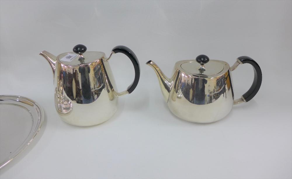 Lot 285 - Walker & Hall tea and coffee set (5)